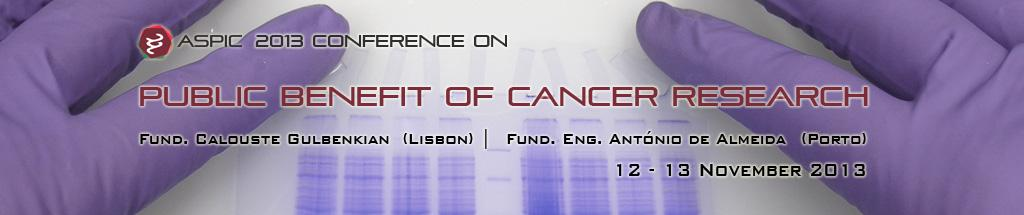 Public Benefit of Cancer Research