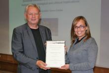 Rosário André (IPOLFG/ FCM-UNL) premiada pela EACR com o «Young investigator Award»